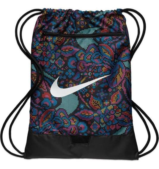 Sacola Nike Brasilia Printed Gym 9.0