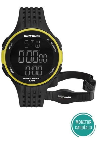 Relógio Masculino Mormaii Com Monitor Cardíaco Mo11559aa/8v