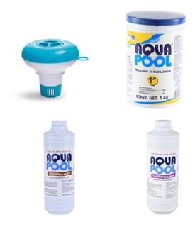 Alberca, Kit Para Mantener El Agua Limpia