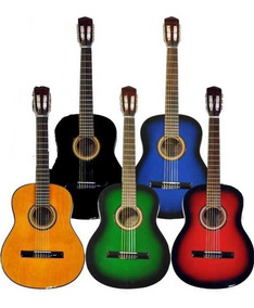 Guitarra Criolla Clasica De Estudio Varios Colores