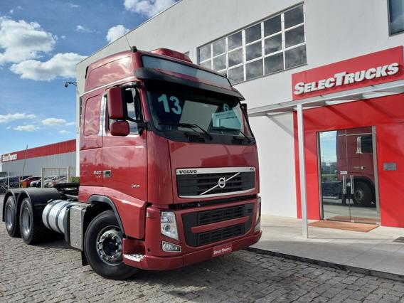 Volvo Fh540 6x4 Teto Alto - Unico Dono