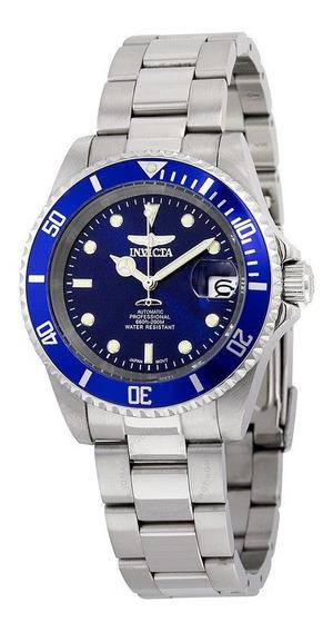 Reloj Invicta 9094ob Automatico Azul (mov. Seiko) Diver 200m