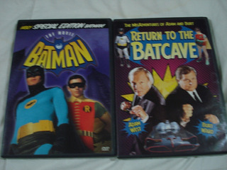 Batman Robin Adam West Burt Ward 2dvd Peliculas De Coleccion