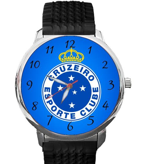 Relógio Cruzeiro Raposa Zeiro Celeste Maior Minas Azulão