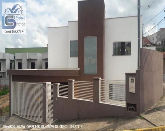 Lindo Sobrado Com Fino Acabamento No Centro De Pinhalzinho/sp; - 680 - 34064628
