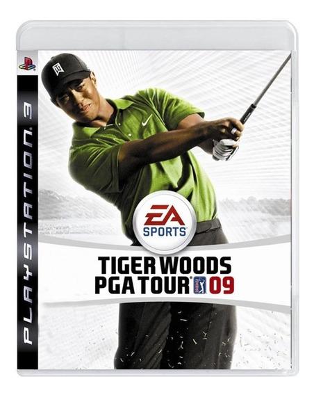 Tiger Woods Pga Tour 09 Ps3 Mídia Física Pronta Entrega