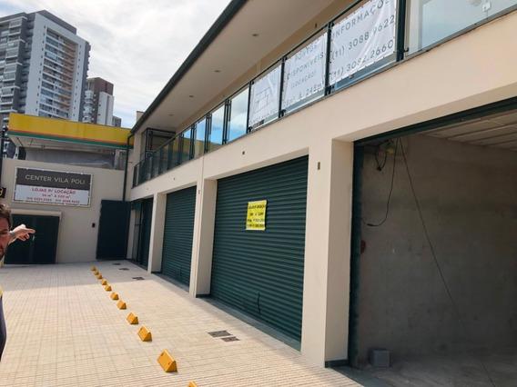 Centro De Conveniência / Ponto Comercial De Lojas 30 A 56m²