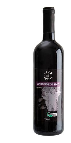 Imagem 1 de 2 de Vinho Vero Nuttri Tinto Seco Orgânico 750ml