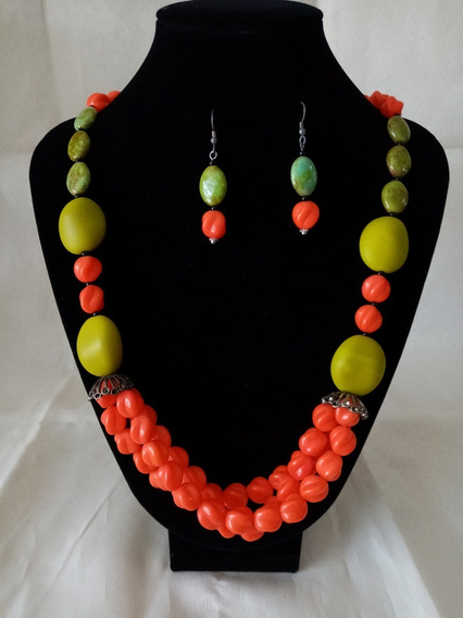 Collar De Auténtico Cristal Checo Zava Beads