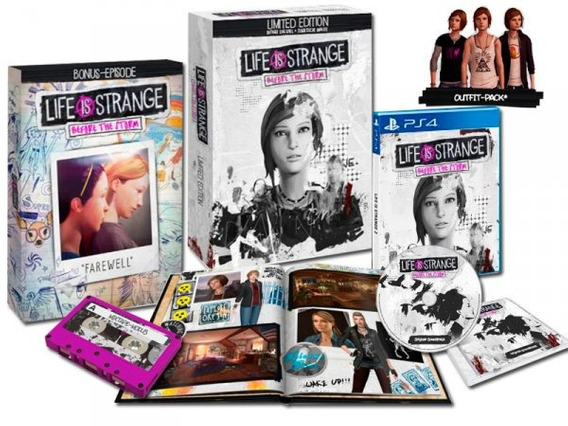 Life Is Strange Before The Storm Limited Edition (ps4) Novo