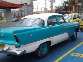 Plymouth 1956 Bicolor Perfecto Estado, Totalmente Restaurado
