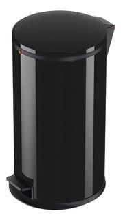 Cubo Cesto Residuos Hailo 25 Lts, Soft Negro Designe Pure L