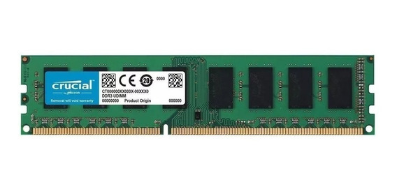 Memoria Ram Crucial 16gb Ddr4 2400 Ct16g4dfd824a 1x16 Hi End