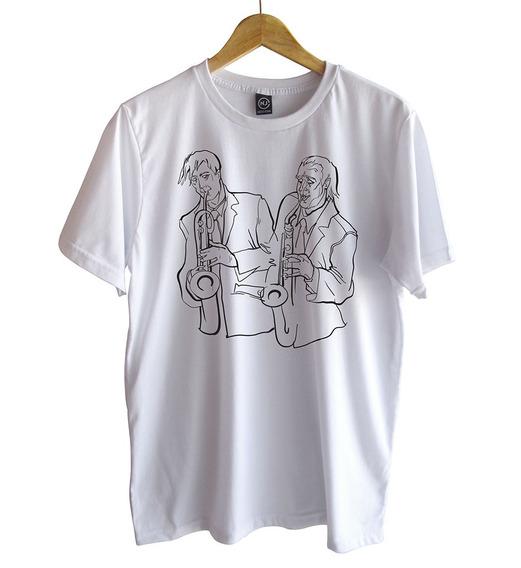 Camiseta Nego John Sax
