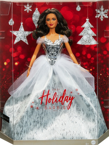 Imagem 1 de 8 de Barbie Holiday 2021 Signature Collector Natal Festa Latina
