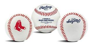 Pelota Beisbol Rawlings Oficial Mlb Boston Red Sox !!!