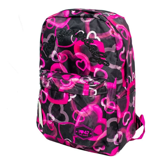 Mochila Urbana 47 Street Girl League Original Q47-94