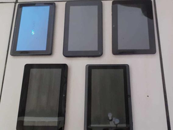 5 Tablets (pra Retirada De Peças Ou Consertar)