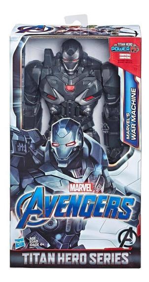Boneco Titan Hero Marvel Deluxe 2.0 War Machine Avengers