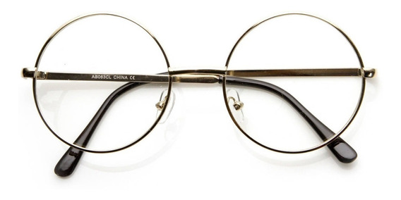 Óculos Geek Redondo - Pequeno - John Lennon - Harry Potter