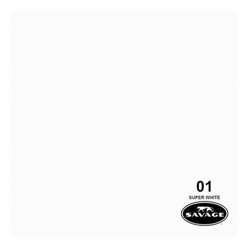 Ciclorama Papel Super White #01 Savage Para Estudio Fotografico