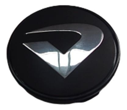 Sub Calota Tampa Centro Volcano Roda Original Vários Emblema