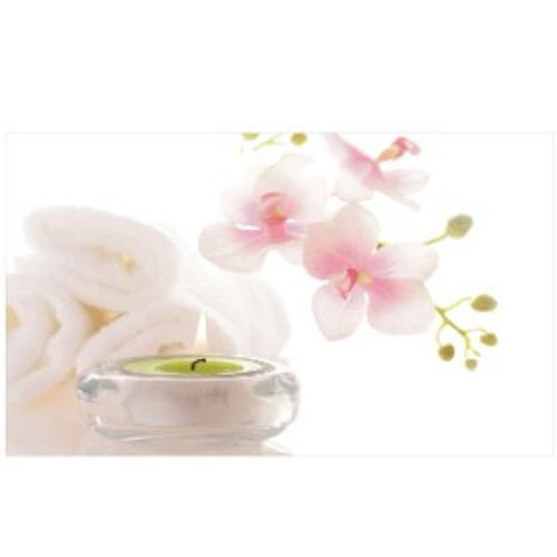 Painel Adesivo Decoração Flores Pétalas Rosa Spa Sais Beleza
