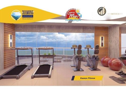 Apartamento Com 2 Dormitórios À Venda, 64 M² Por R$ 410.000,00 - Caiçara - Praia Grande/sp - Ap1167