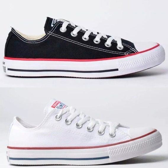 Kit 2 Pares Tênis Feminino Converse All Star Lona 30%off