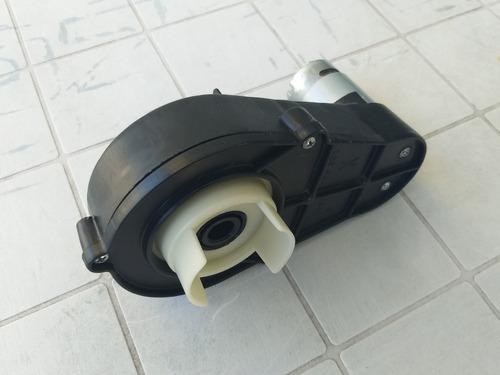 Imagen 1 de 9 de Motorreductor 6v 12v Motor Caja Reductor Auto Bateria Niño