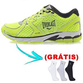 Tênis Sapato Everlast - Circuit 2 Verde + 01meia ( Grátis )