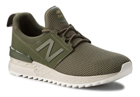 Tênis New Balance 574 Sport Verde Lifestyle Ms574duo