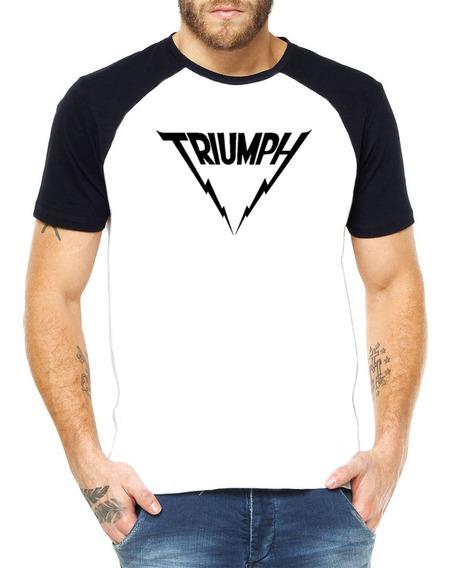 Camiseta Raglan Triumph 100% Algodão