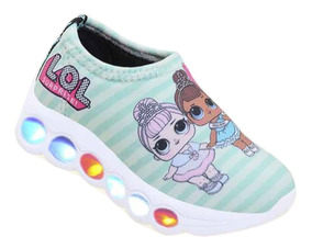 Tênis Infantil De Led Lol Surprise