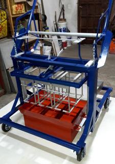 Máquina Bloquera Reforzada Para Bloques De Hormigón