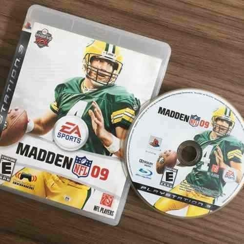 Madden Nfl 09 Ps3 Playstation 3 Midia Fisica