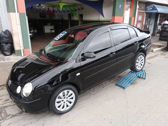 Polo Sedan 2005 1.6 Total Flex 4p Preto
