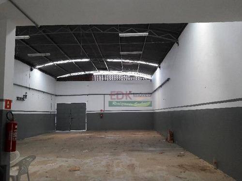 Imagem 1 de 8 de Galpão Para Alugar, 600 M² Por R$ 5.000,00/mês - Vila Bandeirantes - Caçapava/sp - Ga0173