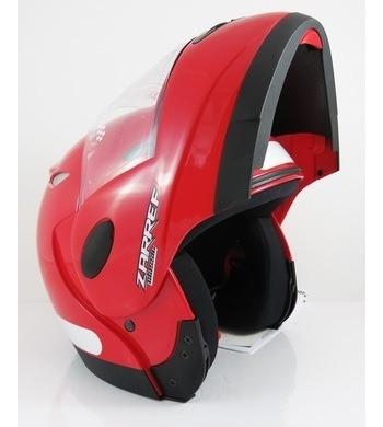 Capacete Taurus Zarref V4 Classic Vermelho 56