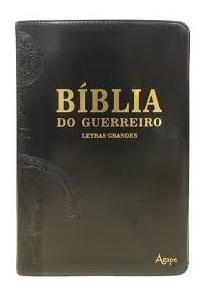 Biblia Do Guerreiro Letras Grandes - Agape