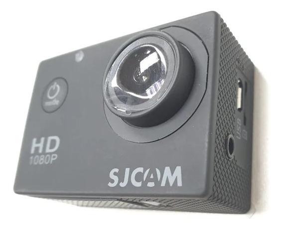 Câmera Sjcam Sj4000 Hd S/wifi Com Microfone Externo Original