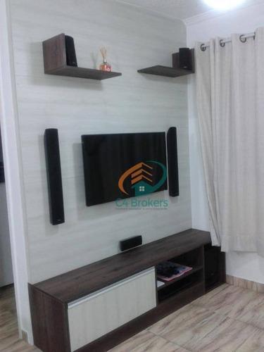 Imagem 1 de 20 de Apartamento Com 2 Dormitórios À Venda, 45 M² Por R$ 310.000,00 - Jardim Modelo - São Paulo/sp - Ap1568