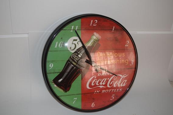 Reloj Original Coca Cola, Vintage, Retro.