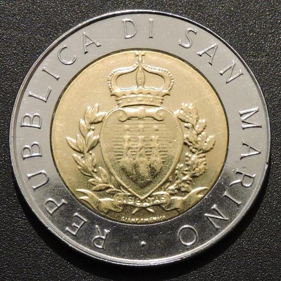 San Marino 500 Liras 1987