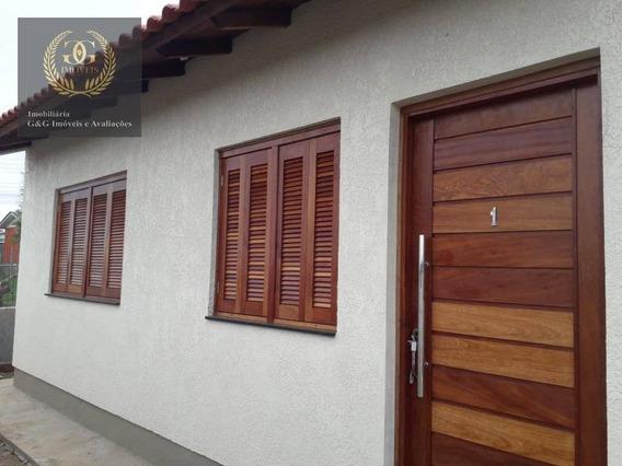 Casa Com 2 Dormitórios À Venda, 40 M² Por R$ 135.000 - Jardim Itapema - Viamão/rs - Ca0486
