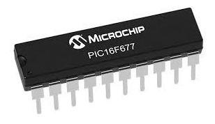 Microcontrolador Pic16f677-ip