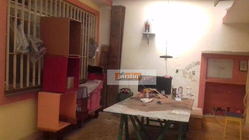 Sobrado Residencial À Venda, Bairro Jardim, Santo André. - So2062