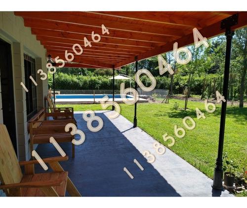 Imagen 1 de 14 de Casa Quinta Alquiler Temporal, Oeste, Mes, Quincena, Pileta