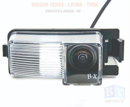 Camera De Ré Nissan Tiida Sedã 2011 2012 2013 Específica Hd