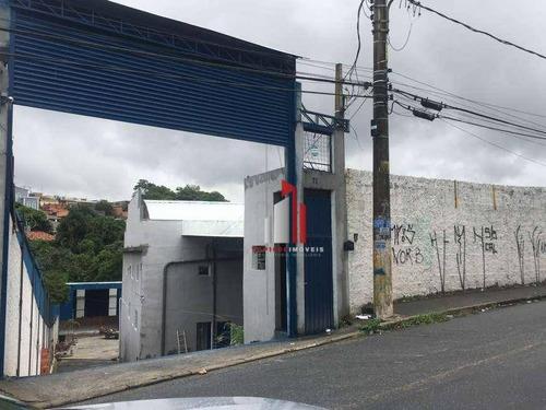 Galpão, 2400 M² - Venda Por R$ 2.300.000,00 Ou Aluguel Por R$ 20.000,00/mês - Jardim Do Castelo - Ferraz De Vasconcelos/sp - Ga0045